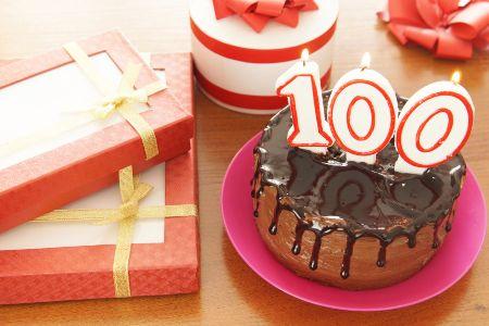 Tarta 100 cumpleaños